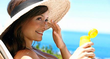 Запаситесь солнцезащитными средствами