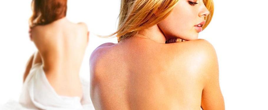 Чистка спины